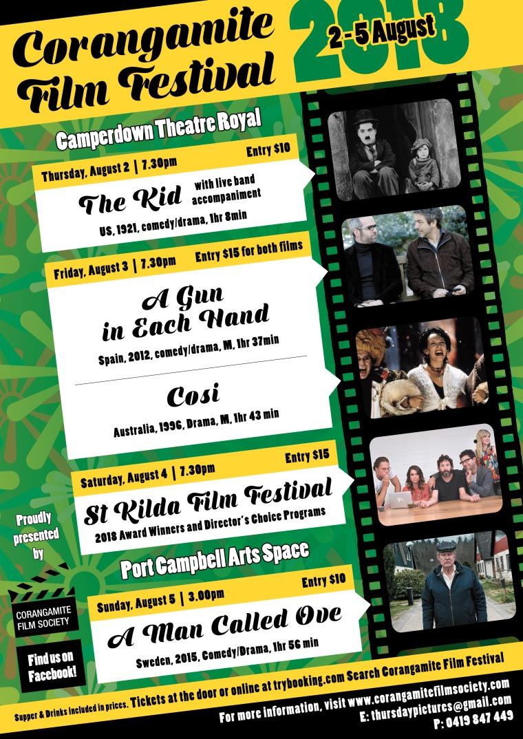Corangamite Film Festival Poster.indd